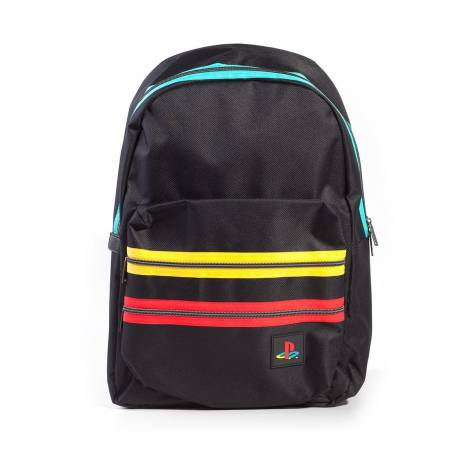 Difuzed Playstation - Black Retro Logo Backpack (BP718645SNY)