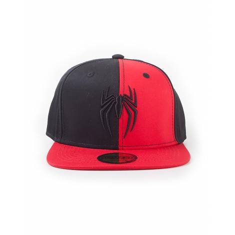 Difuzed Spiderman - 3D Emboidery Logo Snapback Cap (SB358310SPN)