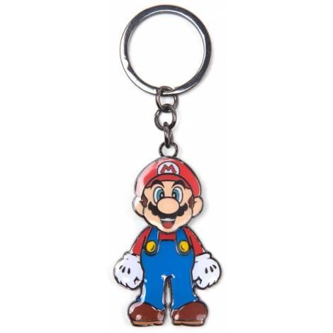 Difuzed Super Mario - Mario With Movable Head Metal Keychain (KE645205NTN)