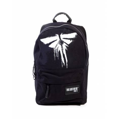 Difuzed The Last Of Us - Firefly Screen Printed Logo Black Backpack (BP337213LFU)