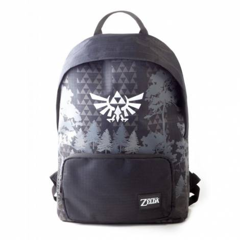 Difuzed Zelda - Black & White Backpack (BP216280ZEL)