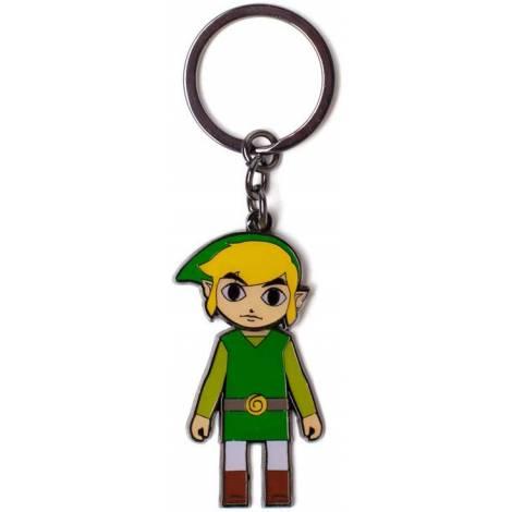 Difuzed Zelda - Link With Moveable Head Metal Keychain (KE705182ZEL)