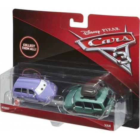 Disney Pixar Cars 3 - Minny and Van (Set of 2) (DXW06)