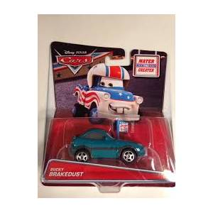 DISNEY PIXAR CARS TOON CAR - MATER THE GREATER BUCKY BRAKEDUST (CHC15)