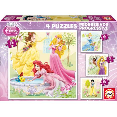 Disney: Princess 12, 16, 20 & 25pcs (15289) Educa