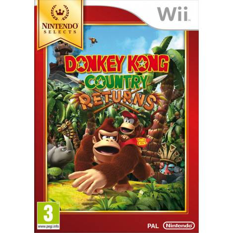 Donkey Kong Country Returns - Selects (Wii)