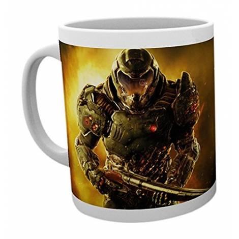 Doom - Space Marine with Logo Mug (MG1377)