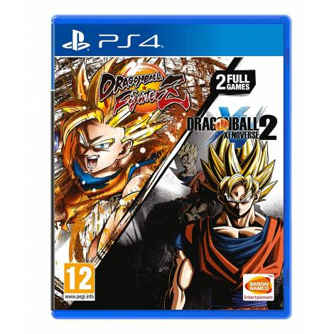 Dragon Ball FighterZ And Dragon Ball Xenoverse 2 Double Pack (PS4)