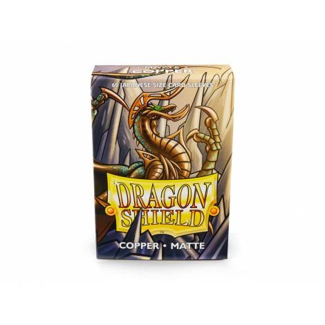 DRAGON SHIELD COPPER SMALL MATTE 60CT