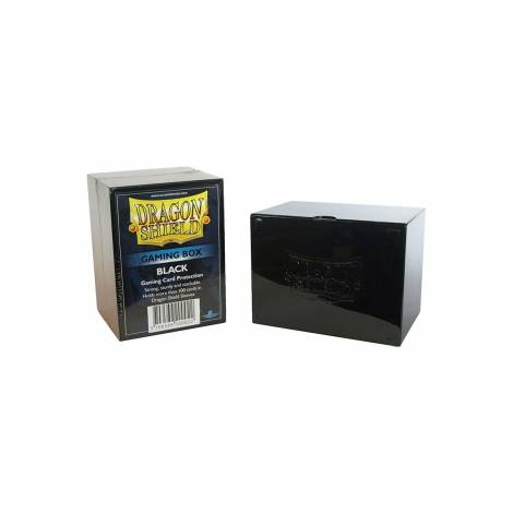 Dragon Shield Gaming Box - Black (Holds 100 Sleeved Cards)