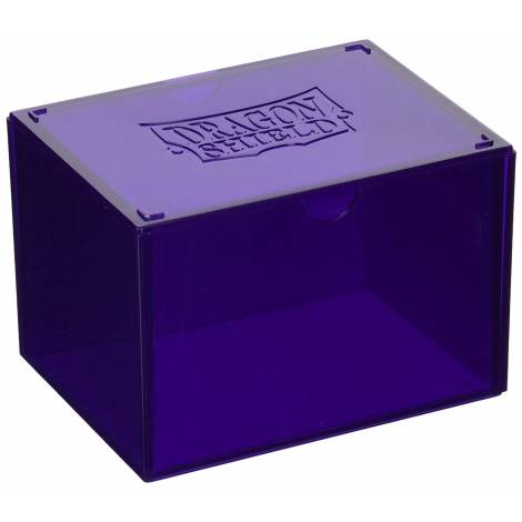 Dragon Shield Gaming Box - Purple (Holds 100 Sleeved Cards)