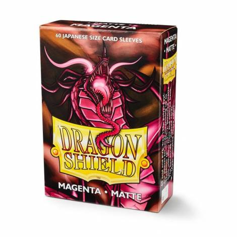 Dragon Shield – Japanese Matte Deck Protectors 60-ct Magenta