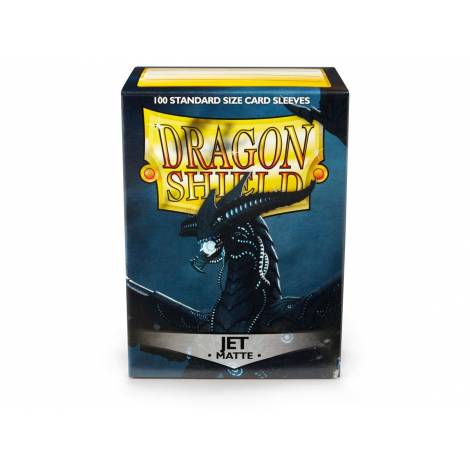 Dragon Shield: Japanese Matte Sleeves JET - 60ct