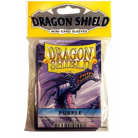 DRAGON SHIELD SMALL PURPLE 50-CT