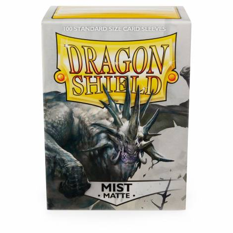 Dragon Shield: Standard Matte Sleeves BABY BLUE