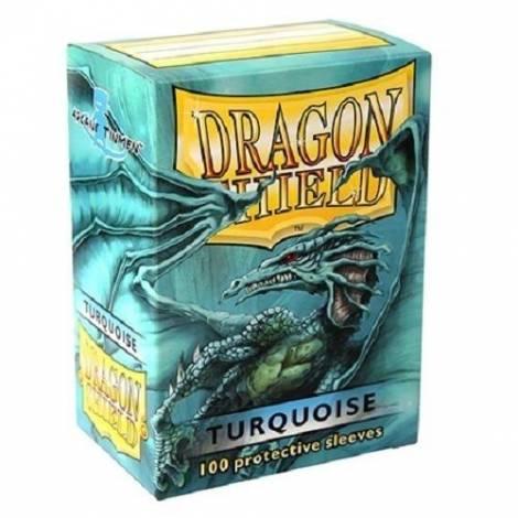 DRAGON SHIELD TURQUISE 100-CT