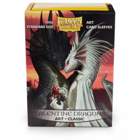 DRAGON SHIELD: VALENTINE DRAGONS SLEEVES 100CT