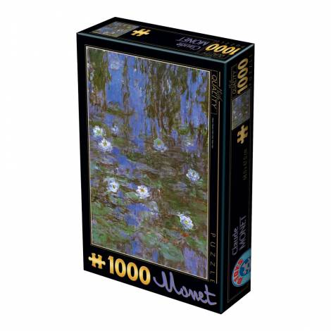 DTOYS ΠΑΖΛ 1000Τ.68x47εκ. MONET NYMPEAS 67548CM06