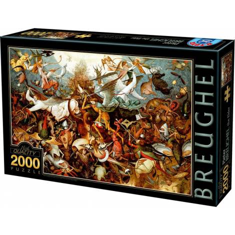 DTOYS ΠΑΖΛ 2000Τ.96x68εκ. BRUEGHEL THE FALL OF REBEL ANGELS 72900BR02