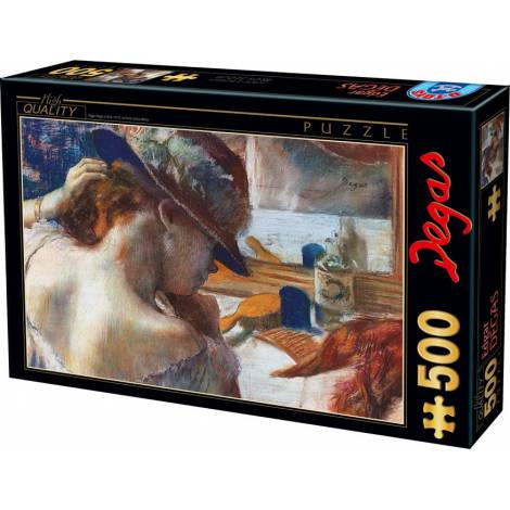 DTOYS  ΠΑΖΛ 500Τ.48x34εκ.DEGAS IN FRONT OF THE MIRROR 73938AP01