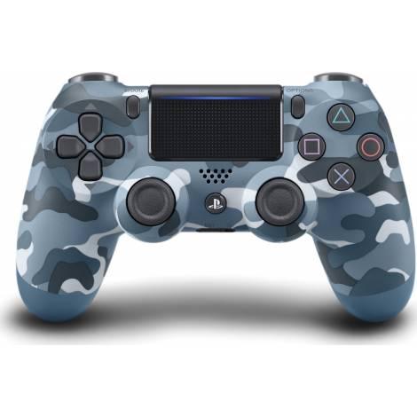 Dualshock 4 Controller Blue Camouflage V2