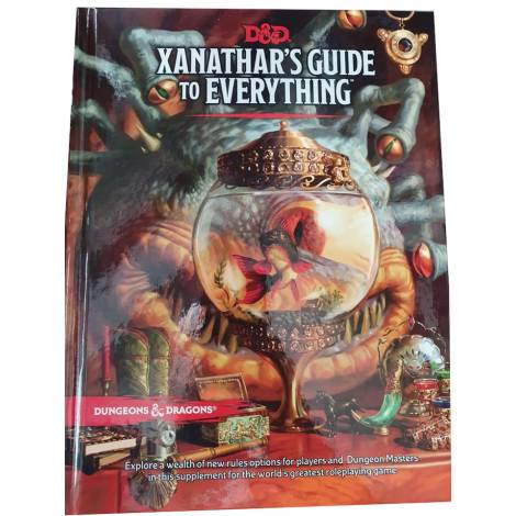 Dungeons and Dragons: Xanathar's Guide to Everything