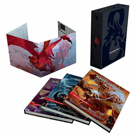 Dungeons & Dragons RPG Core Rulebooks Gift Set english Wizards Coast Board games