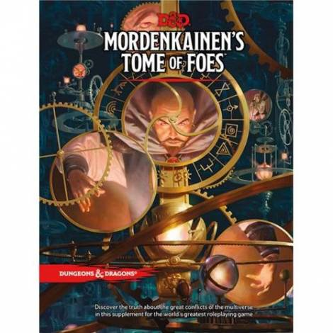 Dungeons & Dragons RPG – Mordenkainen's Tome of Foes (Base Edition)