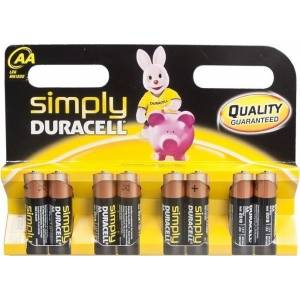 DURACELL SIMPLY AAA - 8 PACK