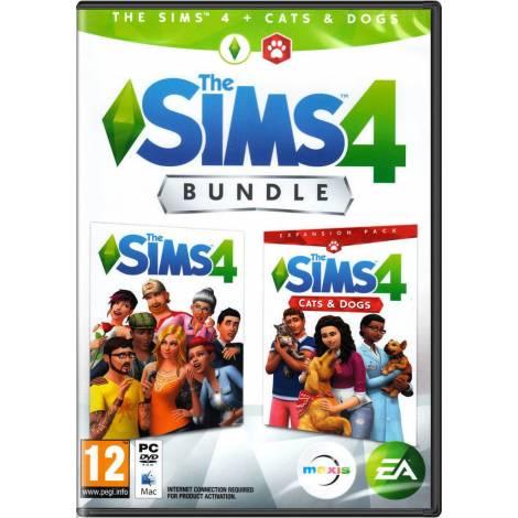 EA The Sims 4 Plus Cats & Dogs Bundle (PC)