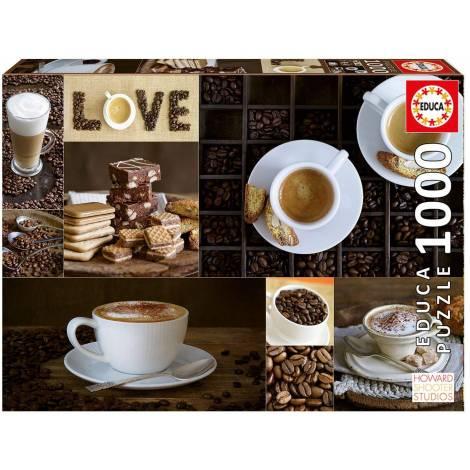 Educa Παζλ 1000Τεμ. Coffee (17663)