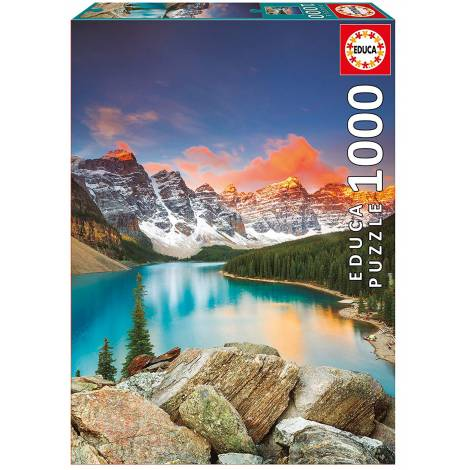 Educa Παζλ 1000Τεμ. Lake Moraine Banff National Park Canada (17739)