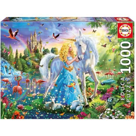 Educa Παζλ 1000Τεμ. The Princess And The Unicorn (17654)