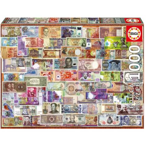 Educa Παζλ 1000Τεμ. World Banknotes (17659)
