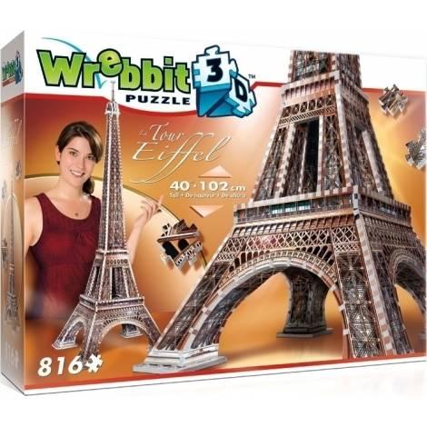 Eiffel Tower 816pcs (W3D-2009) Wrebbit 3D Puzzle