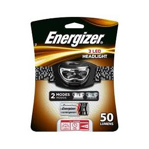 ENERGIZER 3 LED HEADLIGHT 3AAA (FL1 41lm 15h 32m) - INCLUDES 3 AAA BATTERIES