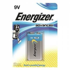 ENERGIZER ADVANCED 9V - 1 PACK