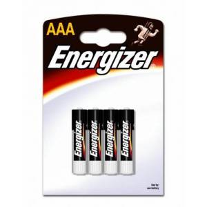 ENERGIZER CLASSIC (ALKALINE) AAA - 4 PACK