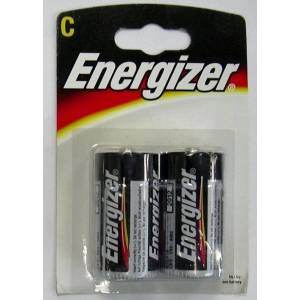 ENERGIZER CLASSIC (ALKALINE) C - 2 PACK