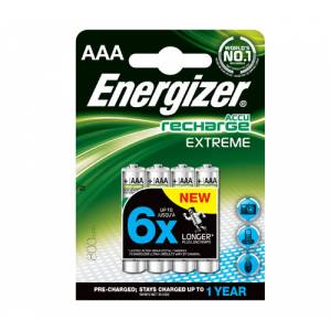 ENERGIZER RECHARGEABLE EXTREME 800mAh AAA - 4 PACK