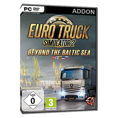 Euro Truck 2 Simulator - Beyond the Baltic Sea (Add On)  (PC)