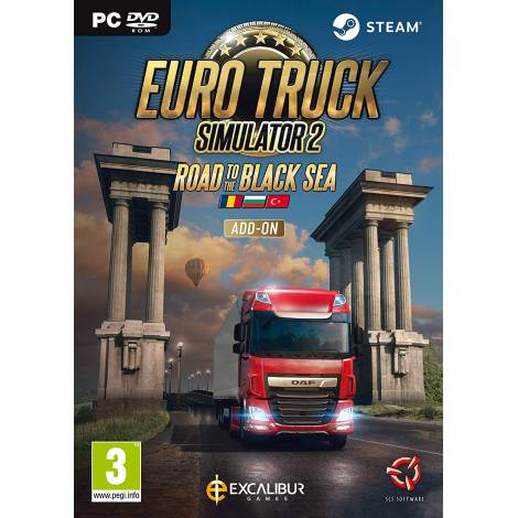 Euro Truck Sim 2   Road to the Black Sea (Add On) (PC) (Code In A Box)