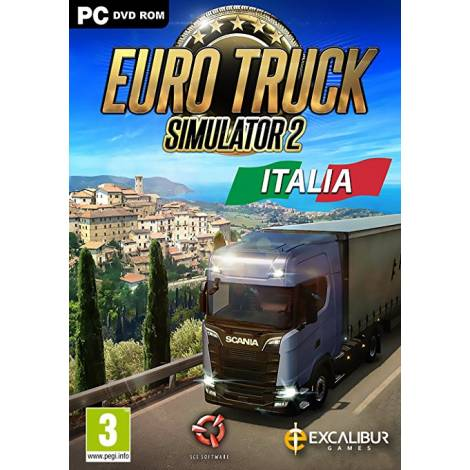 Euro Truck Simulator 2 - Italia Add on - Steam CD Key (Κωδικός μόνο) (PC)