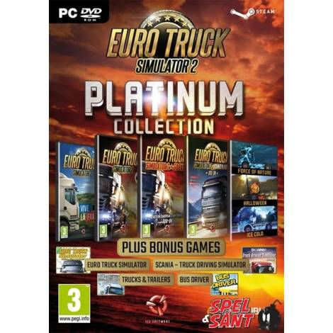 Euro Truck Simulator 2 Platinum Collection (PC) (Cd Key Only)