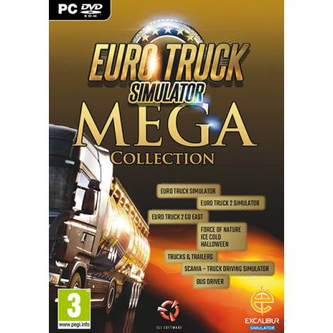 Euro Truck Simulator - Mega Collection 2 (PC)