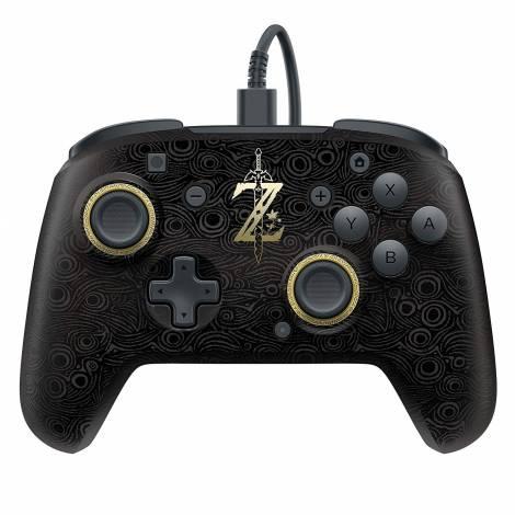 Faceoff - Controller - Deluxe Zelda Breath of the Wild Update (Nintendo Switch)