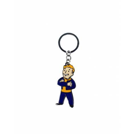 Fallout - Movable Head Metal Keychain (KE572342FOT)