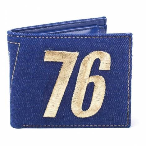 Fallout - Vault 76 Vintage Denim Bifold Wallet (MW060533FAL)