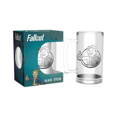 FALLOUT - VAULT BOY GLASS STEIN (GLF0001)