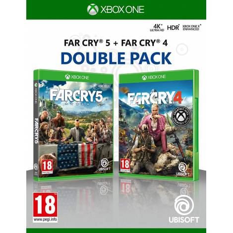 Far Cry 4 & Far Cry 5 (Xbox One)